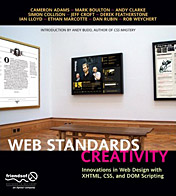 Web Standards Creativity cover